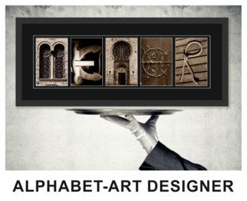Alphabet-Art Designer