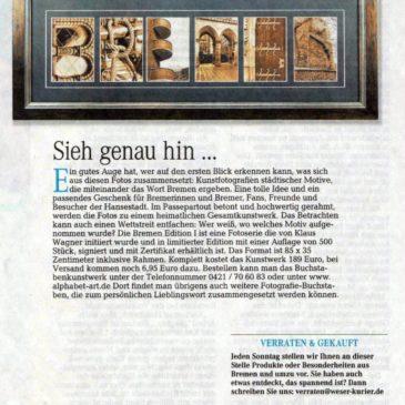 Weserstrand Magazin stellt Bremen Edition 1 vor