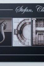 Türschild, Briefkastenschild, Namensschild, wetterfest, Kunst, Design, individuell, Geschenk