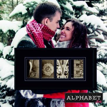 4 Alphabet-Fotos sagen mehr als 1.000 Worte